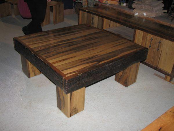 שולחן סלון אגוז אפרקאי שחפופיה