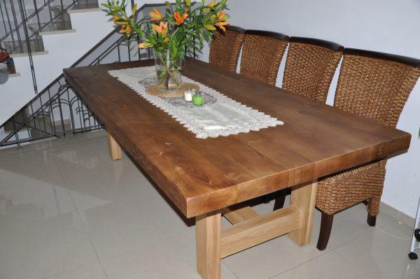 שולחן מעוצב מאלון צרפתי שחפופיה